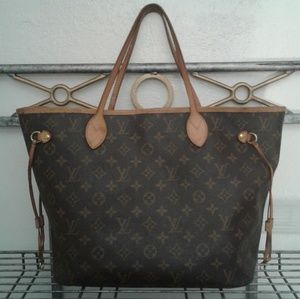 Authentic USA Louis Vuitton Neverfull MM Tote